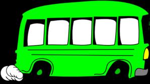 Red school bus clipart clipartfest