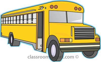 School bus clip art at