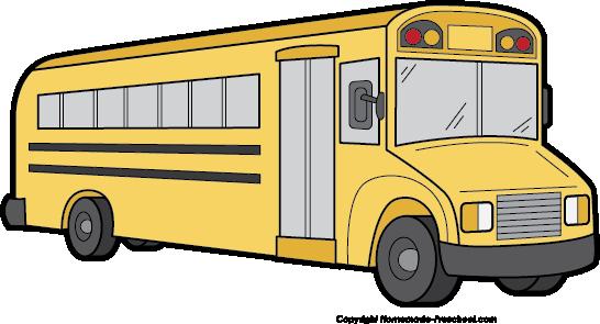 School bus clip art black and white free clipart