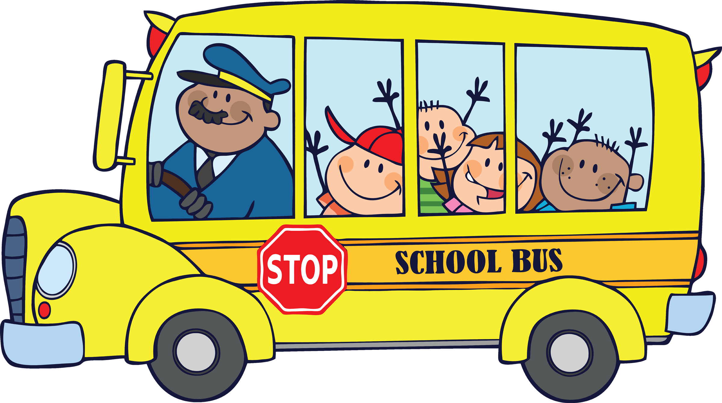 School bus clip art for kids free clipart images