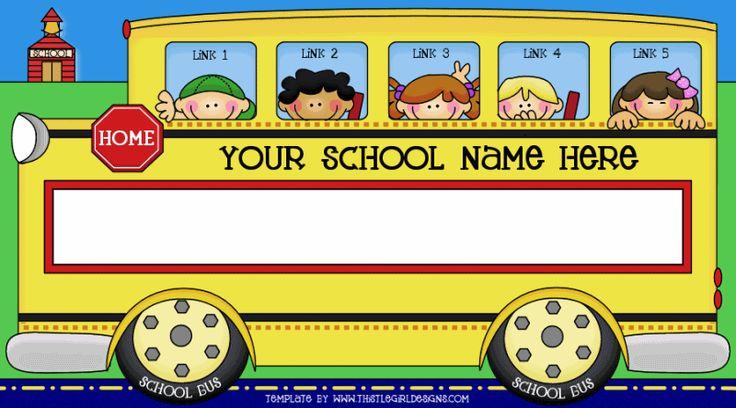 School bus clipart for kids clipartfest