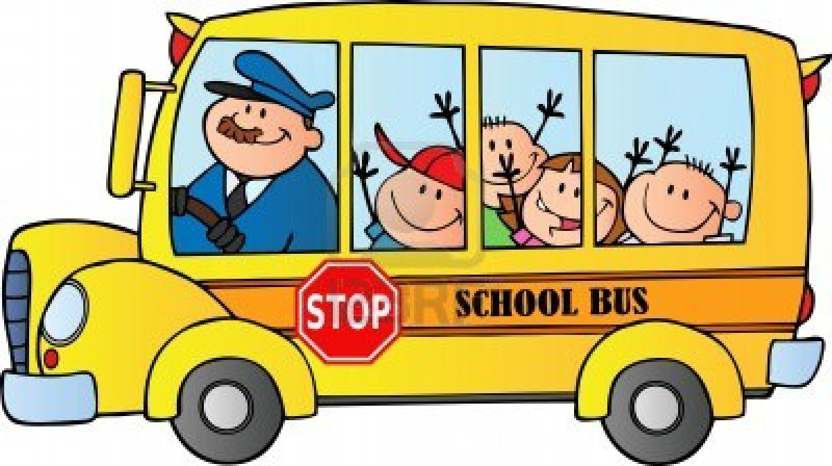 School bus clipart free hostted