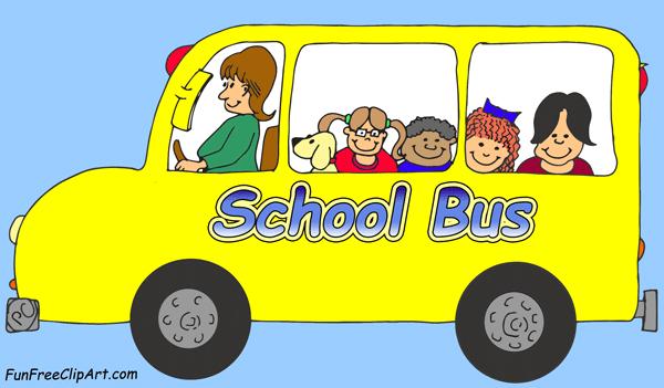 School bus clipart images 3 school clip art vector 2