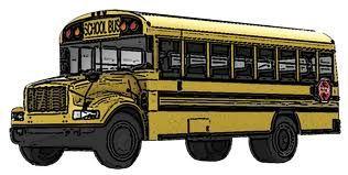 School bus clipart images 3 school clip art vector 9