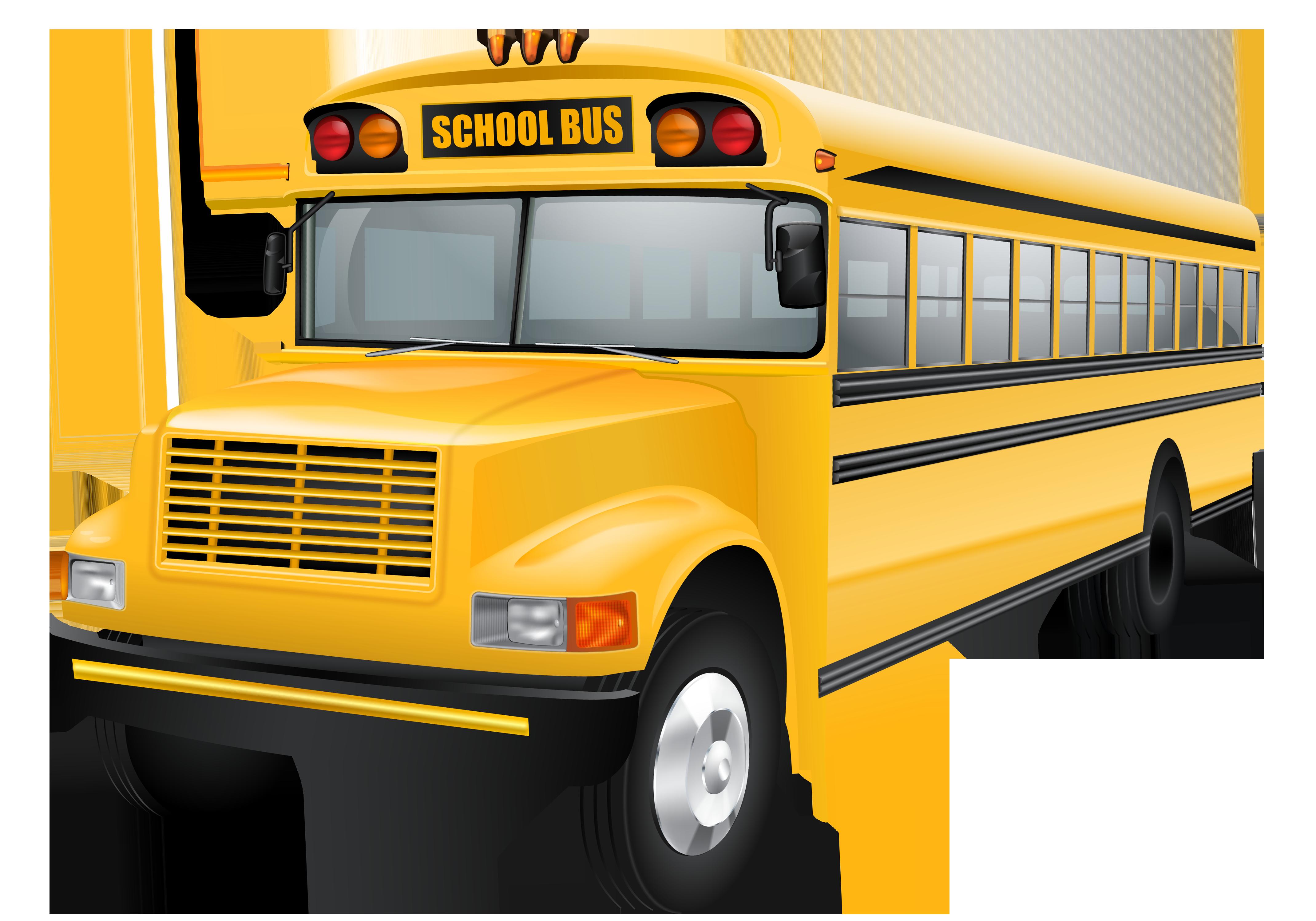 School bus clipart images 3 school clip art vector