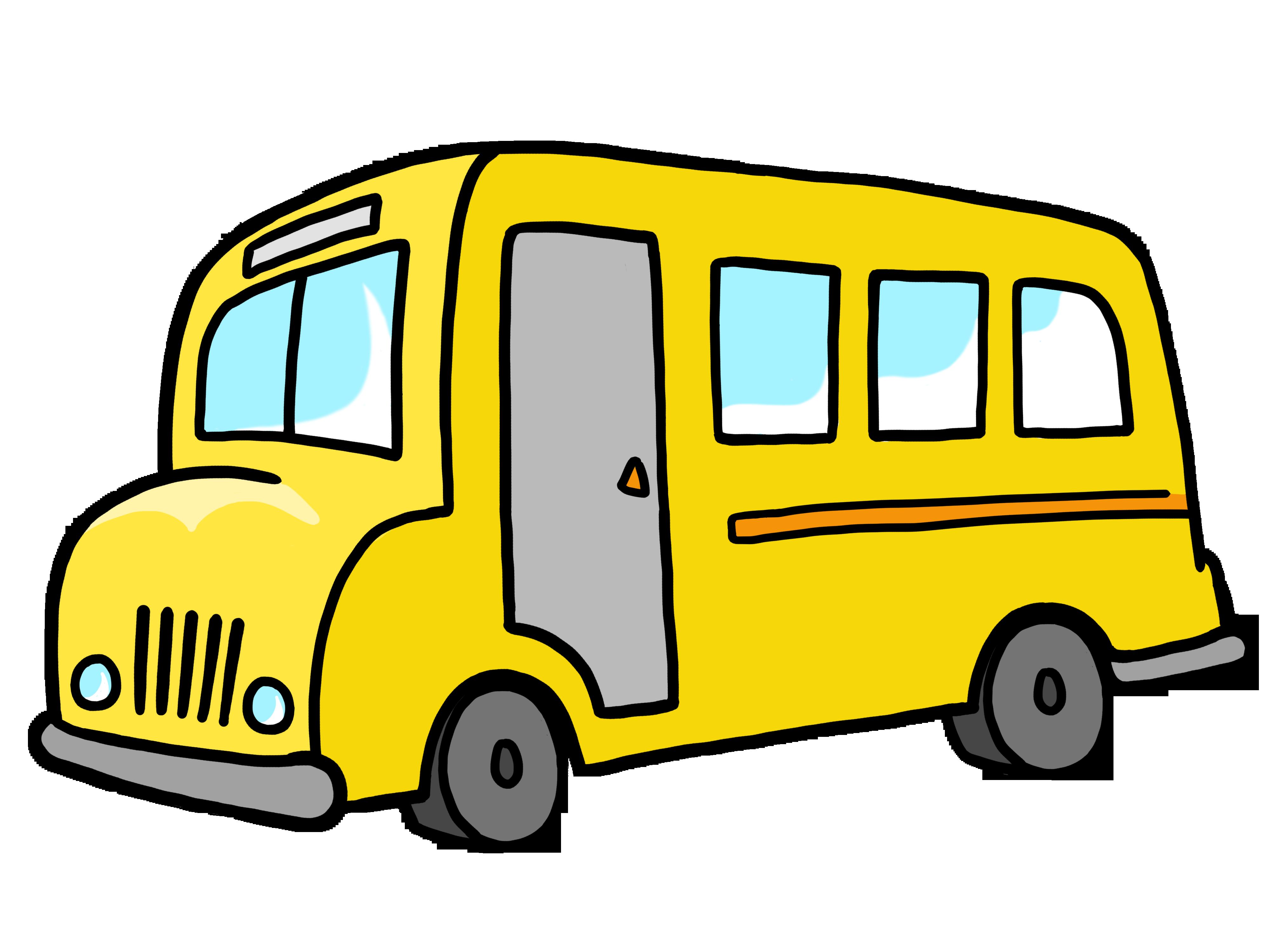School bus clipart transparent clipartfest