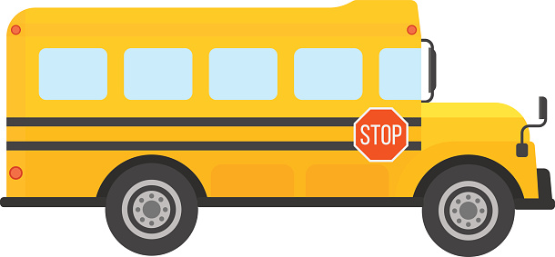 School bus clipart vector clipartfest 2