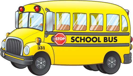 School bus clipart vector clipartfest