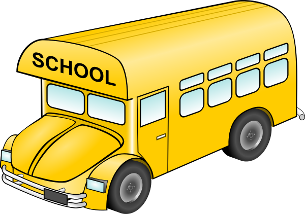 School bus free to use clip art