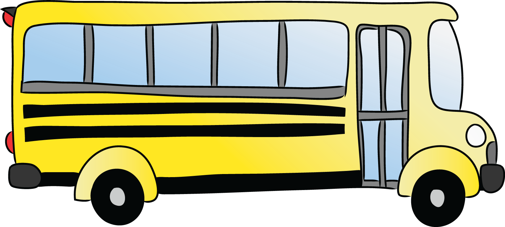 School bus free to use clipart 2