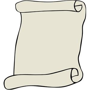Scroll clip art 3
