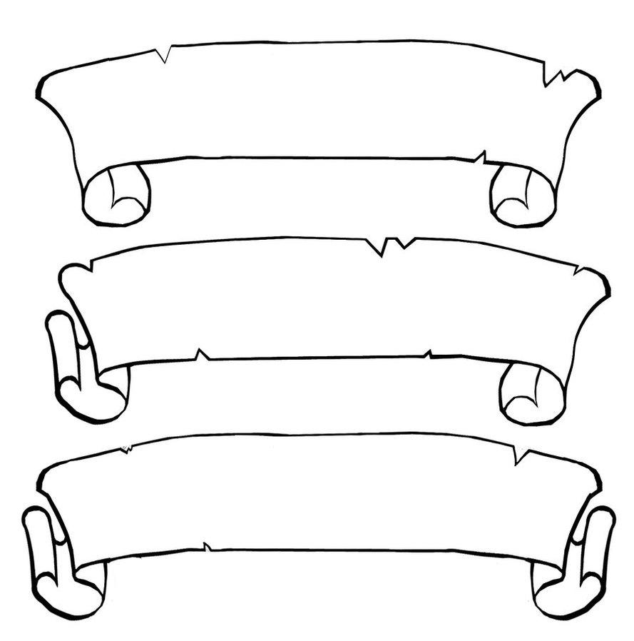Scroll clip art 5