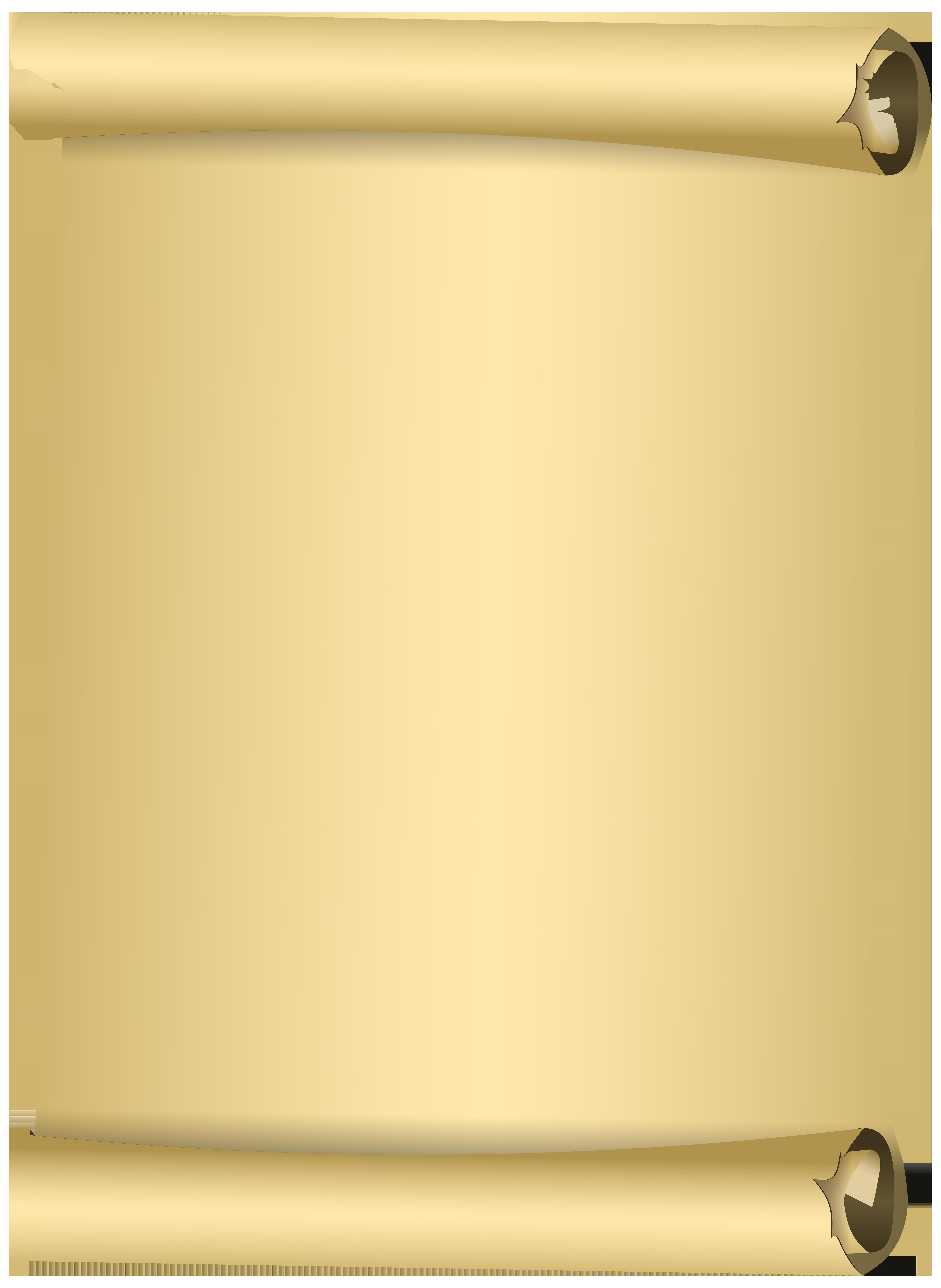 Scroll clip art image