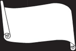 Scroll symbols clipart