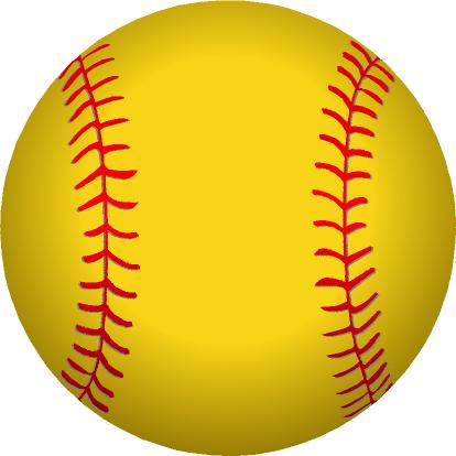 Softball clipart free images 3