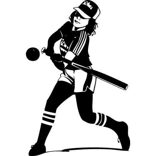 Softball clipart free images 5