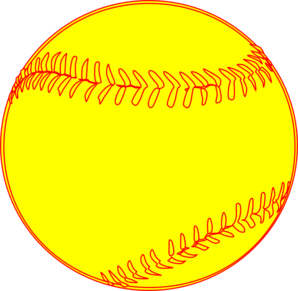 Softball clipart free images clipartfest 3