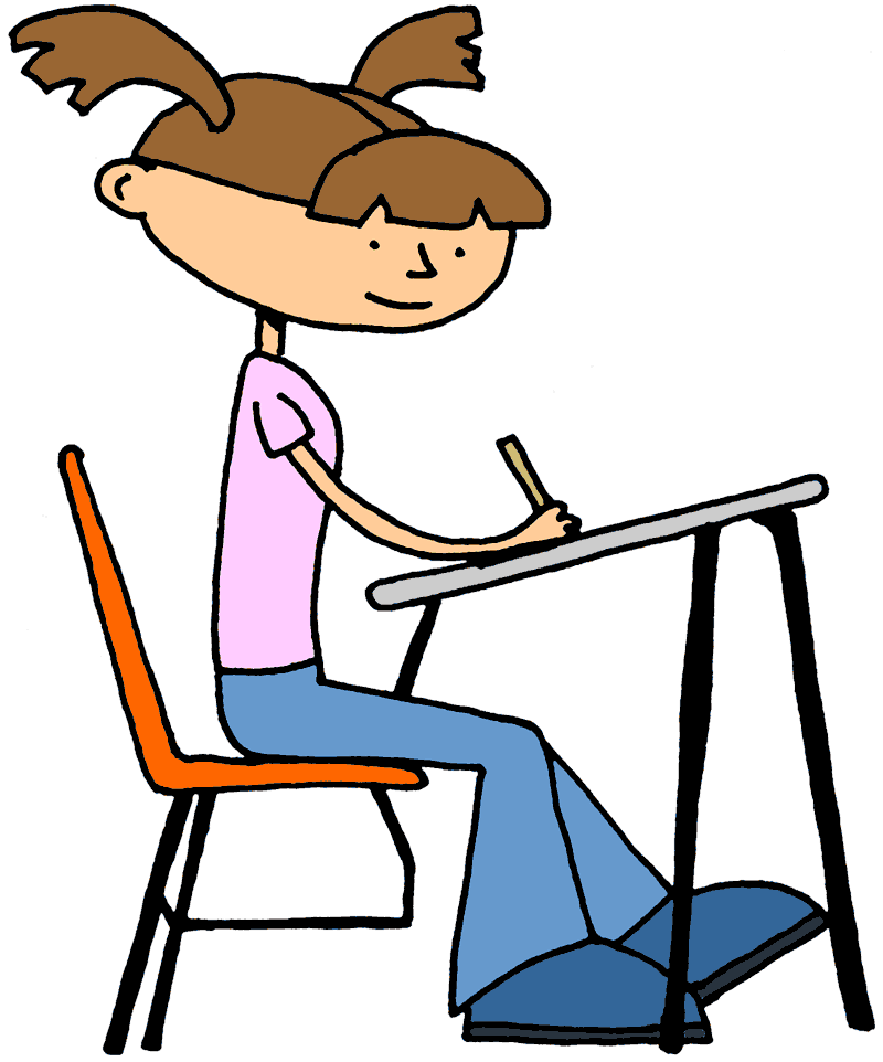 Student writing clipart free images
