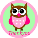 Thank you clip art black and white free clipart
