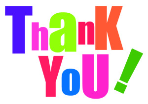 Thank you clip art free clipart images