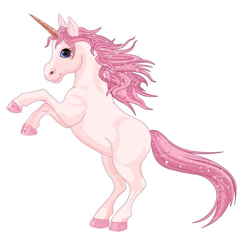 Unicorn clipart fans 3