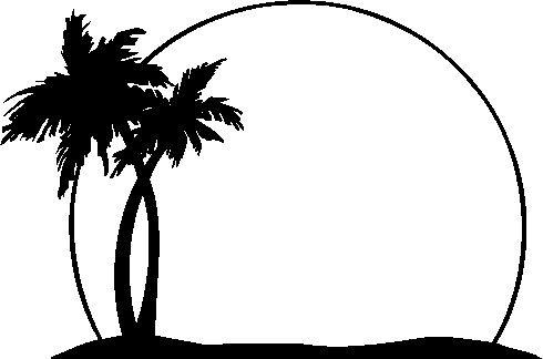 Vector palm tree clip art trees clipart mylocalguide site