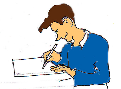 Work on writing clipart