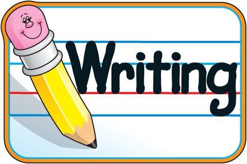 Writing clipart free images 3