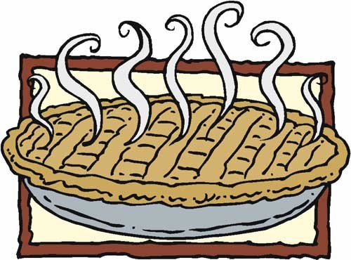 Baked pie clipart 2