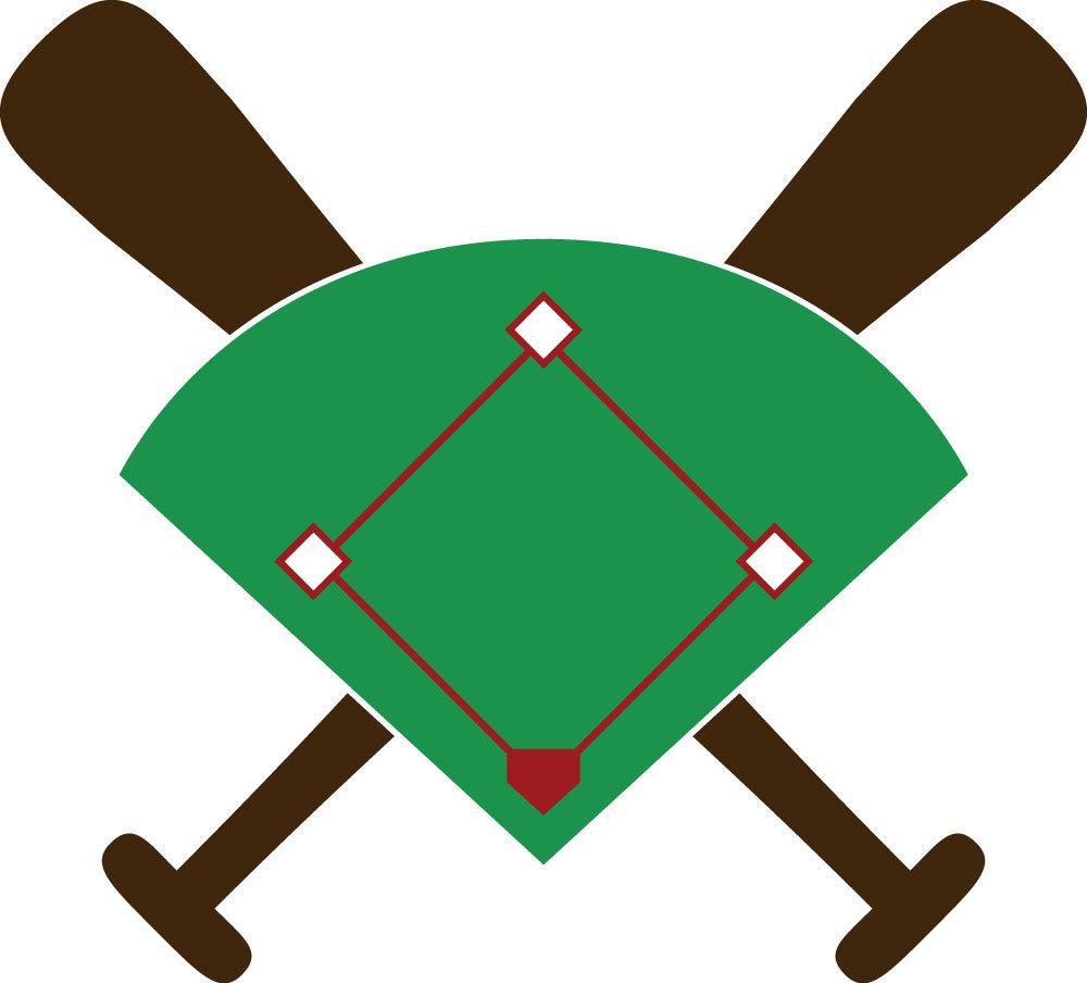 Baseball diamond clipart images 2