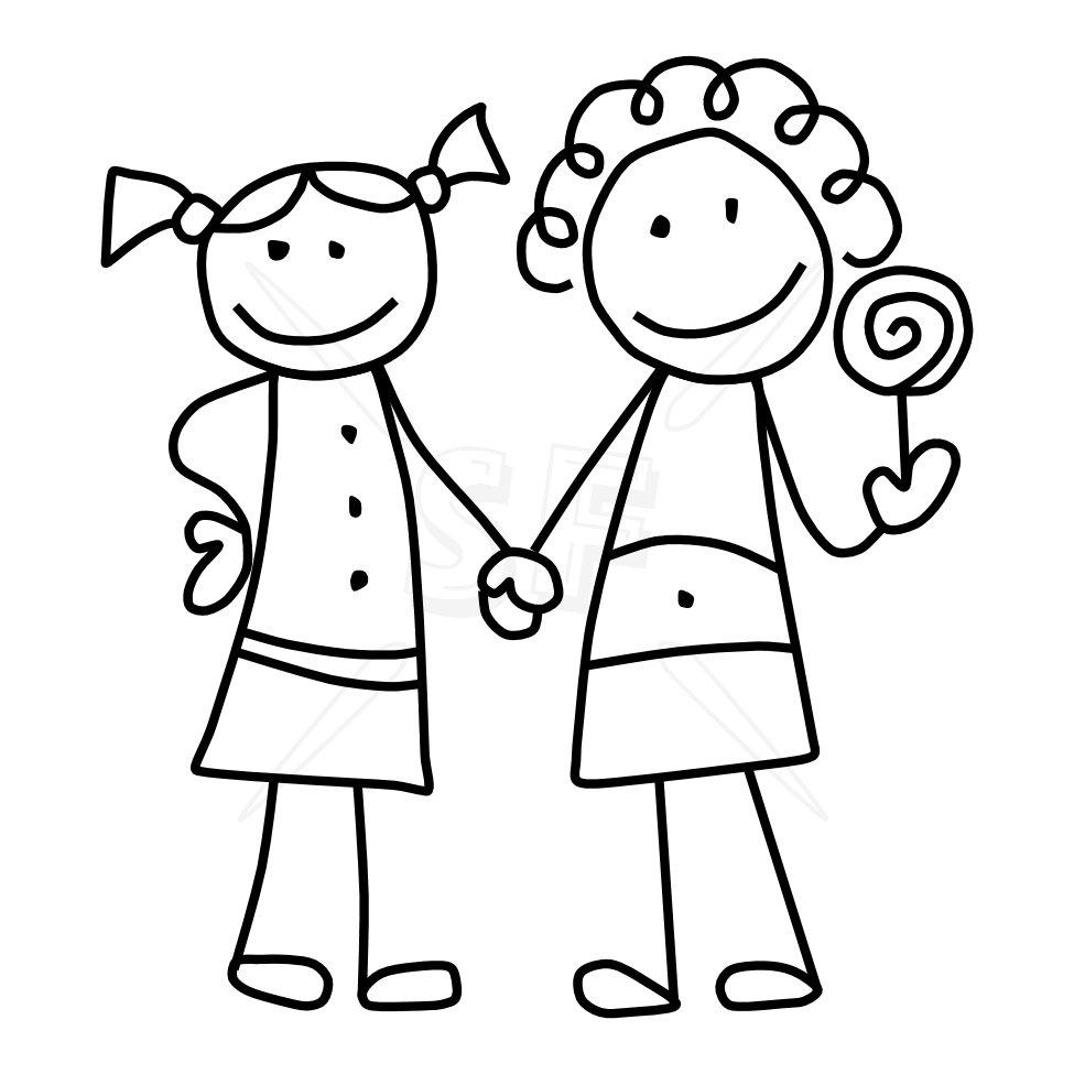 Clip art of friends tumundografico 2
