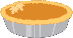 Clip art pumpkin pies clipart
