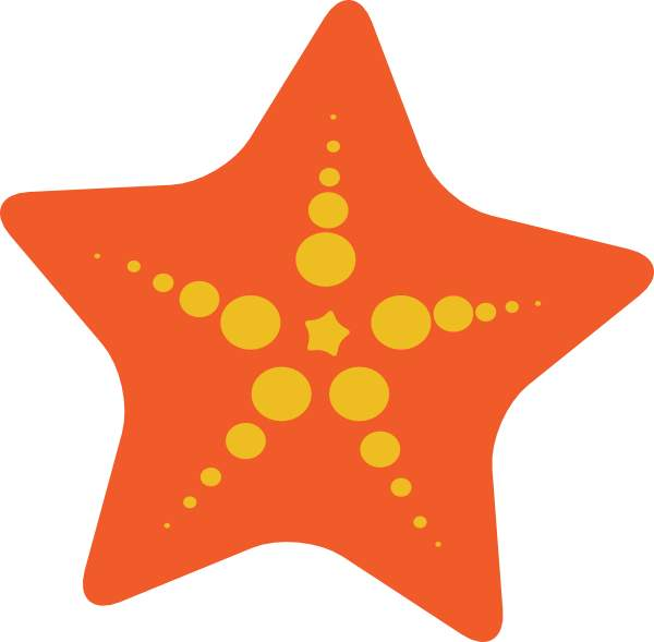 Cute starfish clipart free images 3 2