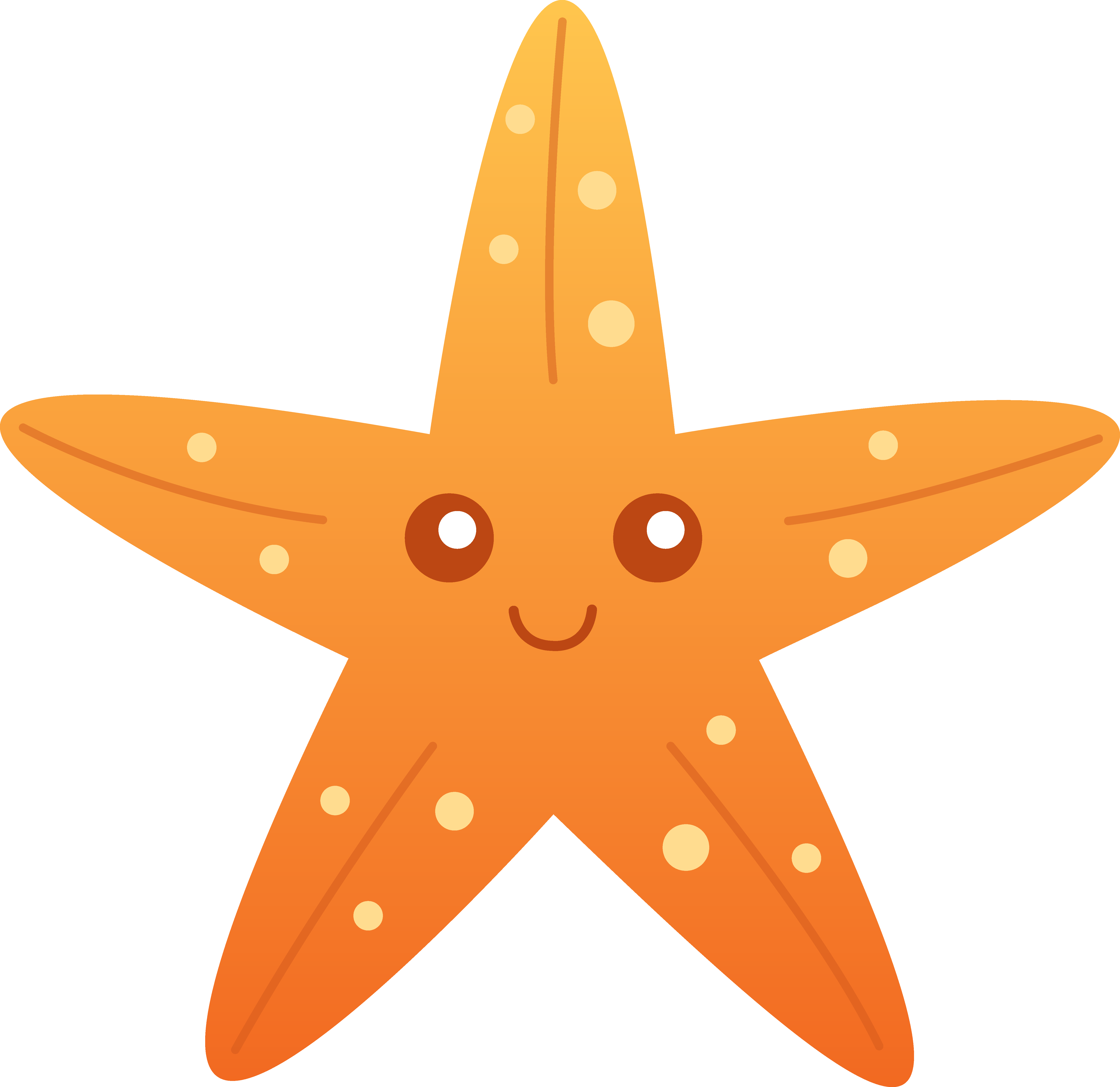 Cute starfish clipart free images