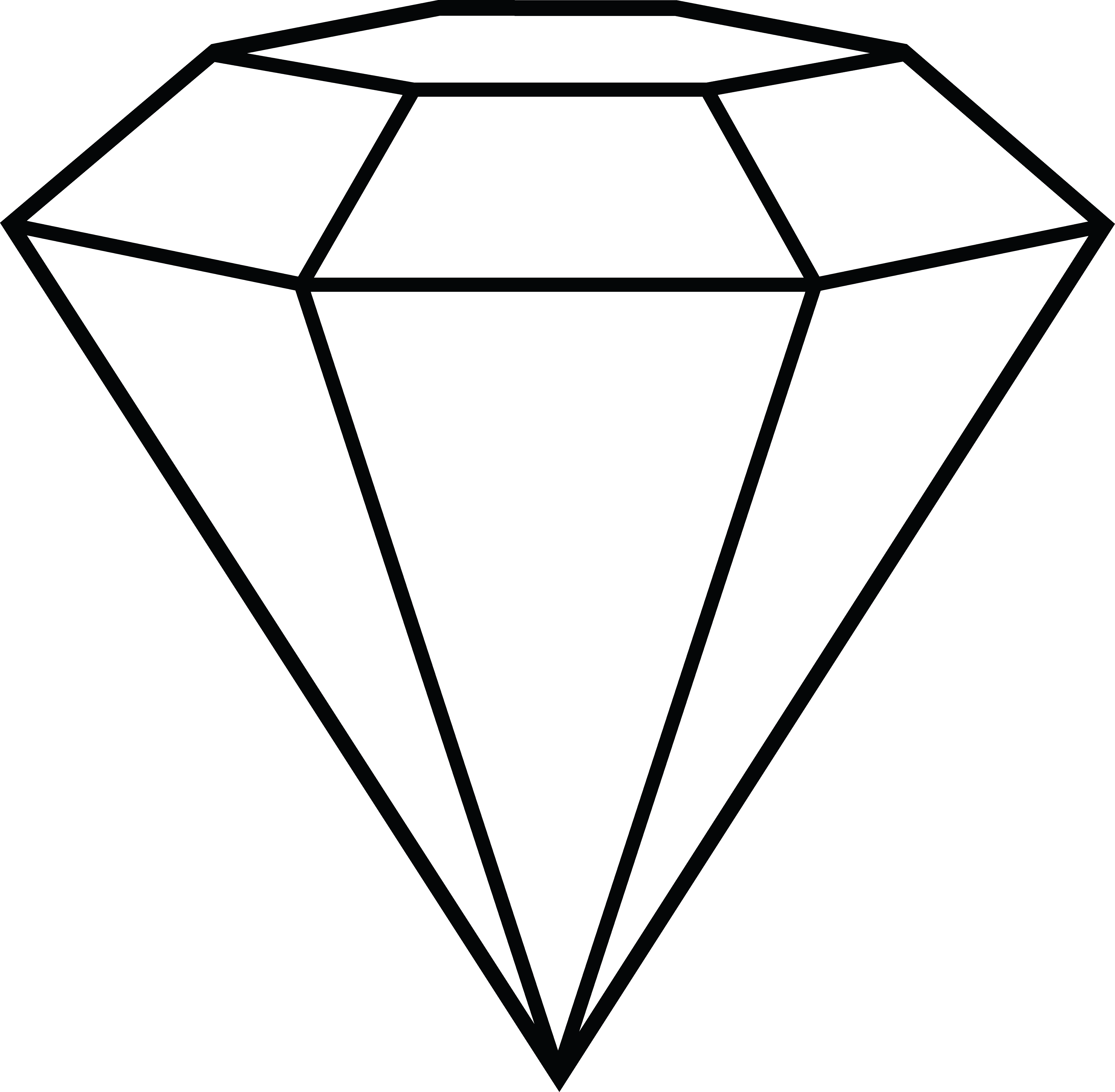 Diamond clip art 6
