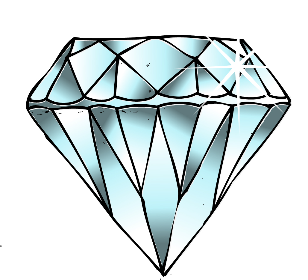 Diamond clip art illustrations diamond clipart vector 2 image 2