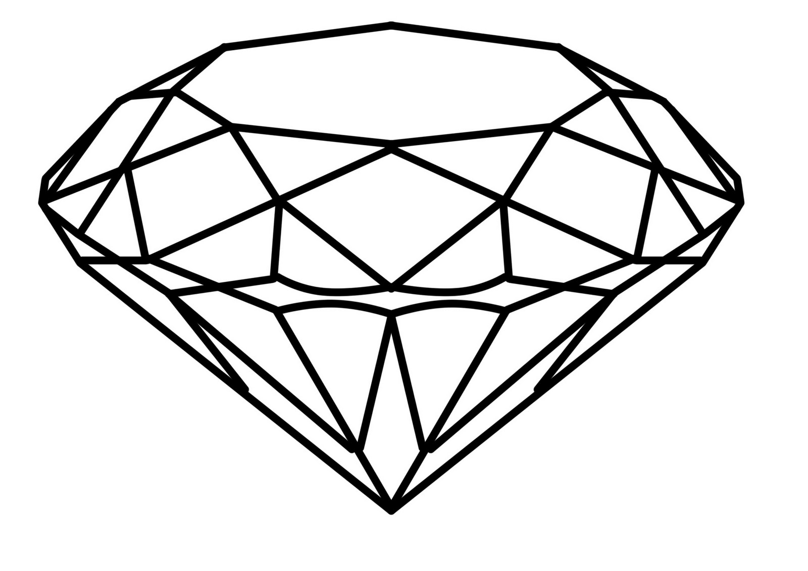Diamond logo clipart 2