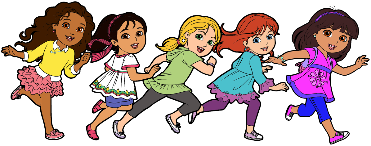 Dora and friends clipart images cartoon clip art
