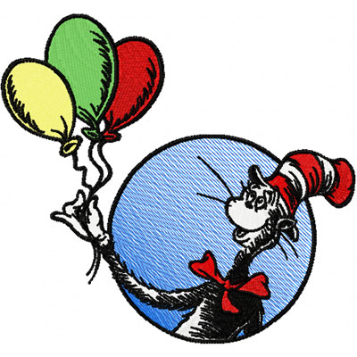 Dr seuss black and white clipart 4