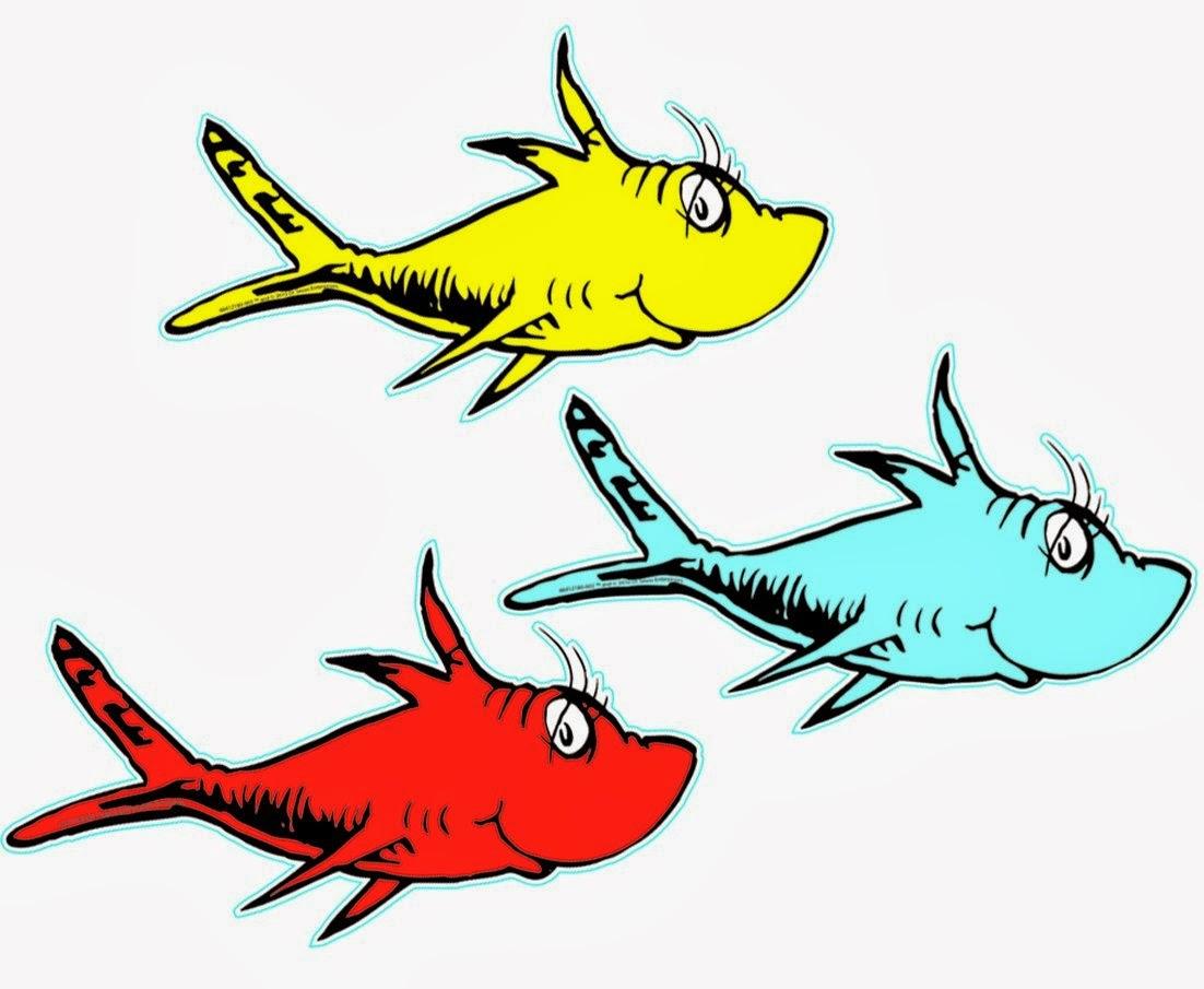 Dr seuss clip art fish free clipart images 3
