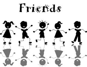 Friends clip art free clipart images 4 clipart 2