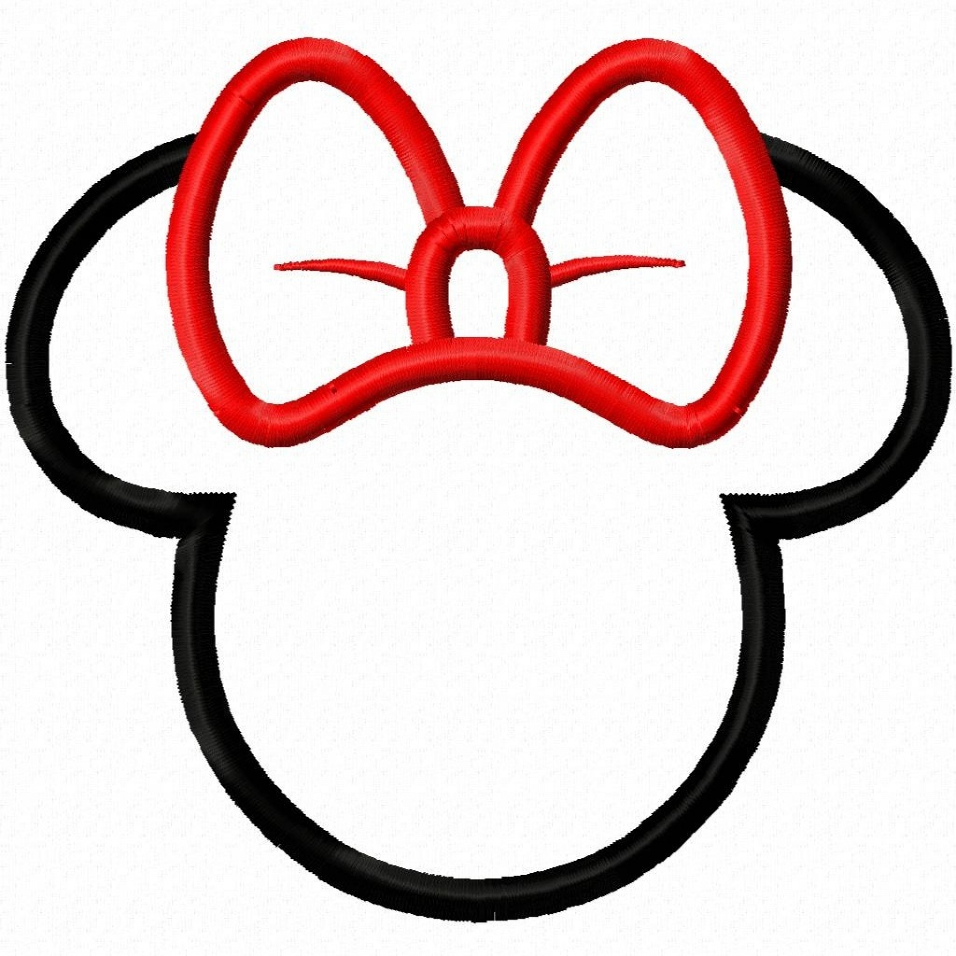 Minnie mouse ear clip art free clipart images