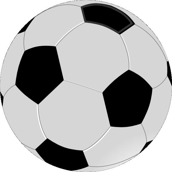 Pink soccer ball clipart