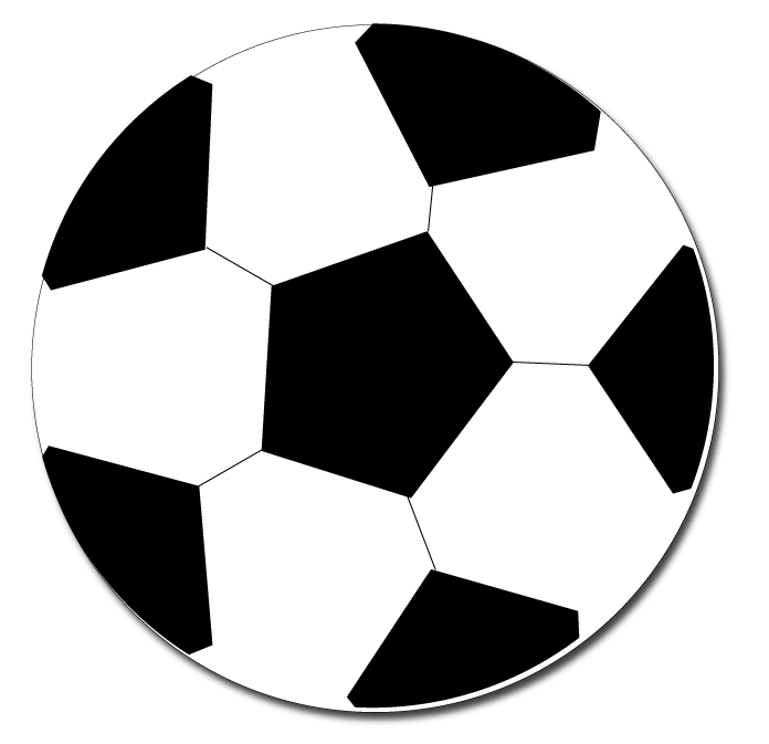 Soccer ball border clip art free clipart images 2