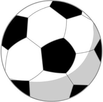 Soccer ball clip art 2