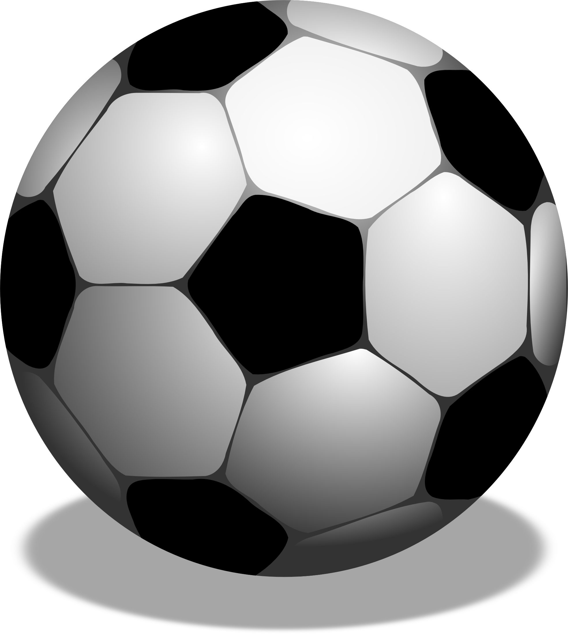 Soccer ball clip art free large images 3