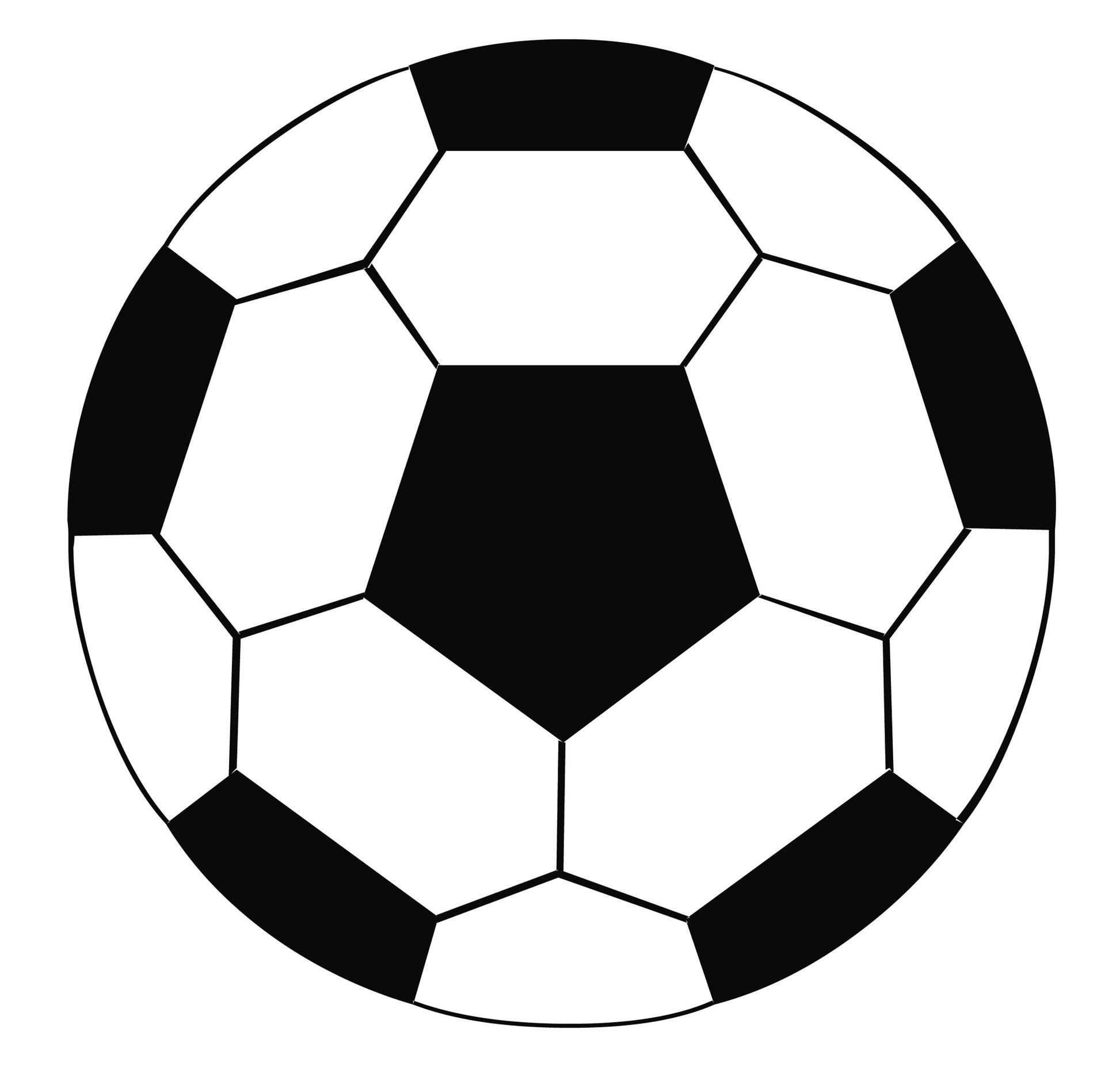 Soccer ball clipart 2