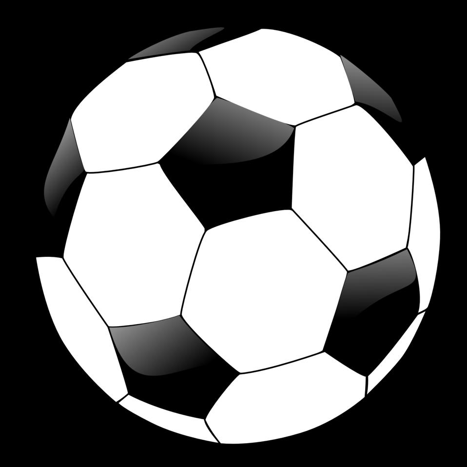 Soccer ball clipart 3