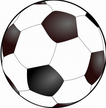 Soccer ball clipart free images 4 clipart