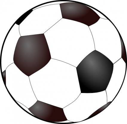 Soccer ball clipart free images 4